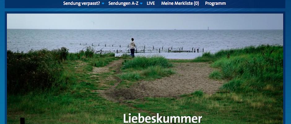 Liebeskummer Film ARD_Titel
